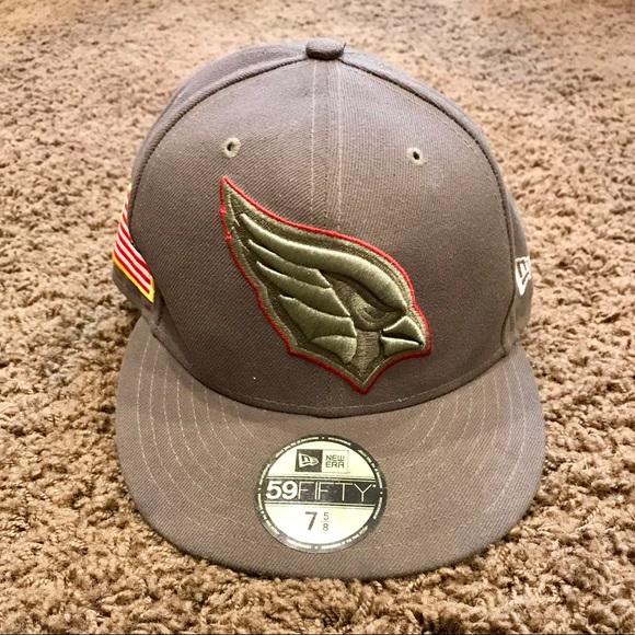 new arrival 077b8 a84d0 AZ Cardinals Salute to Service 59FIFTY hat